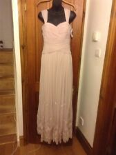 BNWT Gorgeous JS COLLECTION Pink Long Evening Dress UK 8 House Of Fraser