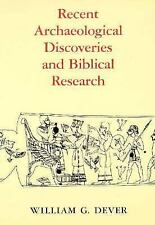 Recent Archaeological Discoveries and Biblical Research (Samuel and Althea Strou