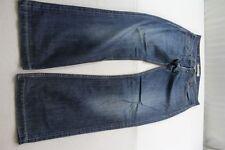 H6853 Levi 's 506 standard 0340 (0918) Jeans w33 l34 bleu foncé très bien