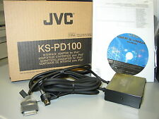 JVC Car Stereo Ipod Interface Adapter KS-PD100 New KSPD100