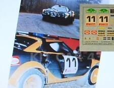 DECAL CALCA 1/43 LANCIA STRATOS I.OLIVERAS RALLY MONTSENY-GUILLERIES 1980