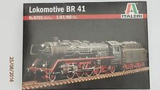 Italeri, 1:87/l' échelle ho, b r 41-german locomotive à vapeur, plastic model kit