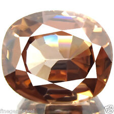 6.32ct FLAWLESS HUGE DAZZLING RARE EARTH MINED UNHEATED NATURAL ZIRCON DONT MISS