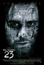 THE NUMBER 23 MOVIE POSTER 2 SIDED 27x40  JIM CARREY