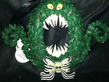 Disney Jack Skellington Nightmare Before Christmas EVIL MONSTER  WREATH ORNAMENT