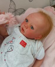 Reborn baby doll Ella Karola Wegerich beautiful sculpt ltd edition 213/999