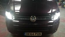 VW T5 Transporter T5.1 Full Monty Headlight DRL etc LED Visual upgrade set