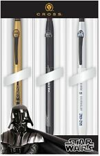 Cross Click Star Wars 3 Pen Multi Pack - Dart Vader, 3CPO, R2 D2