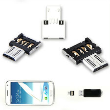 Mini USB 2.0 Micro USB OTG Converter Adapter For Samsung Galaxy Cellphone JP8