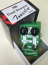NEW MAXON DUAL BOOSTER DB10 Tube Overdrive Solo Boost Lead TS9 Distortion TS808