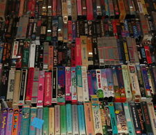 PICK 5 VHS Tapes-BIG & SMALL BOX-All Genre-LOTS OF TITLES!! 80s