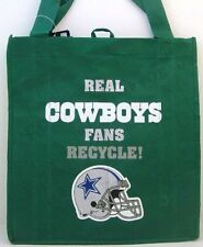 NFL Dallas Cowboys Reusable Canvas Shopping Tote, New