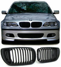 BLACK BONNET GRILLS GRILL FOR BMW E46 3 SERIES SALOON & ESTATE FACELIFT 10/01-05