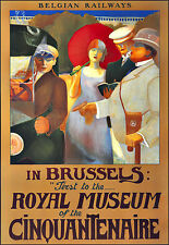 Art Ad Royal Museum Brussels   Deco Poster Print