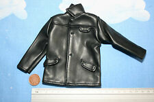 21ST CENTURY 1:6TH SCALE MODERN BLACK LEATHER LIKE JACKET CB25905