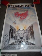BRAZIL - ORIGINAL SS ROLLED POSTER - PERSONALIZED AUTOGRAPH BY TERRY GILLIAM