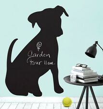 Wallies PUPPY CHALKBOARD wall stickers 3 decals chalk bone ball dog room decor