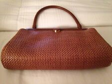 Manolo Blahnik Brown Handbag Medium