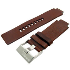 Diesel Genuine Original Watch Strap Real Leather S/Steel Buckle for DZ1123