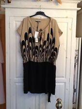 BNWT Stunning Ladies Jaeger 100% Silk Dress, Exclusive For London Fashion Week,