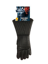 Adult Darth Vader Star Wars Costume Gloves Fancy Dress Brand New