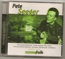"PETE SEEGER, CD ""THE HOUSE CARPENTER"" NEW SEALED"