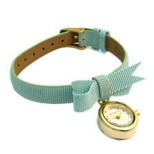 Accessorize Ladies' Fabric Strap Watch with Decorative Bow S1066