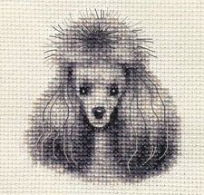 TOY, MINIATURE POODLE, dog ~ Full counted cross stitch kit with all materials