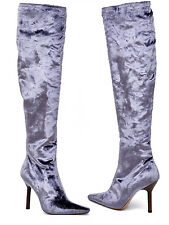 BRAND NEW!!! TOM FORD FOR GUCCI VELVET OVER THE KNEE BOOTS 37 - 7