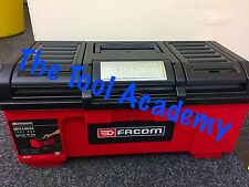 "FACOM NEW RELEASE SELF CLOSING 19"" TOOLBOX 39 X 22 X 16cm - WITH INNER TRAY"