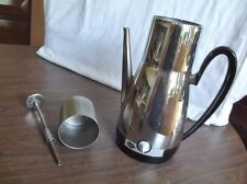 Vintage Sunbeam Percolator Coffee Pot, Model AP-BY, 6 to 8 Cups, for parts.