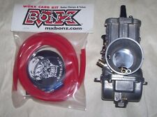 HONDA CR125R 2000 MIKUNI TMX 38mm CARBURETOR  CR125R MIKUNI CARB HOSE CLAMP KIT
