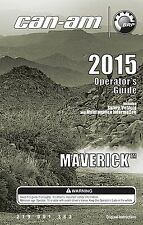 Can-Am Owners Manual 2015 MAVERICK 1000