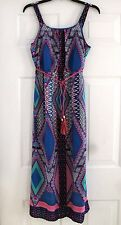 NEW Paper Doll Maxi Dress for Girls Sleeveless Lined Belted Size 14