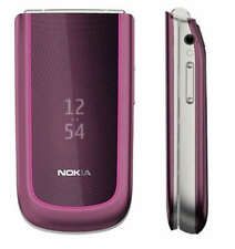 original Nokia 3710 fold Plum 3G Cellphone Unlocked free shipping