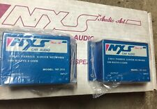 "New Old School NXS Audio Art 4.5"" Midbass Speakers & Crossovers,RARE,NOS,NIB,USA"