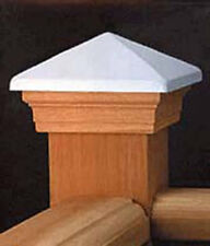 VC3 Post Cap White Copper High Top Western Red Cedar - suit 90-94mm post