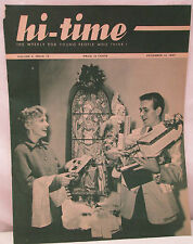 Hi-Time Weekly For Young People Who Think Magazine December 13 1957