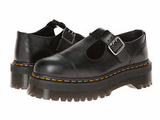 Dr. Martens Women`s Aggy Style Bethan Mary Jane Black Smooth  US 9 EU 41 UK 7