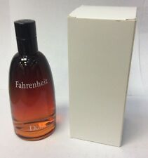 Fahrenheit by Christian Dior 3.3 3.4 oz 100 Ml EDT Spray Tester for Men /