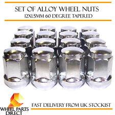 Alloy Wheel Nuts (16) 12x1.5 Bolts Tapered for Daihatsu Atrai 99-09