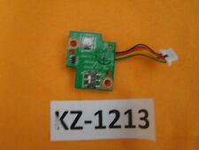 Notebook ASUS W5F Platine Powerbutton Board kabel #Kz-1213