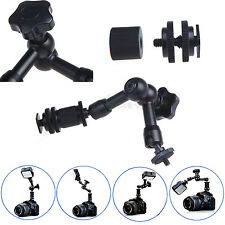 """New 7"""" Friction Adjustable Articulating Magic Arm For DSLR LCD Monitor LED Light"""