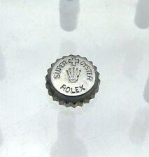 Vintage 1950 Rolex Super Oyster Patent Watch Crown 6105 6022 6084 6085