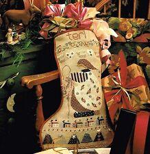 Shepherd's Bush TERI'S STOCKING Cross Stitch Leaflet Only ~ Christmas/sampler