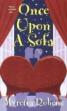 Once Upon  A Sofa (Zebra Regency Romance), Robens, Myretta, Acceptable Book