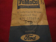 NOS 1957 - 1960 FORD TRUCK WINDSHIELD WIPER SWITCH RETAINER NUT B7C-17512-A NOS