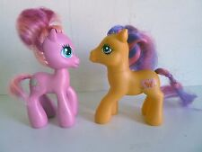 2 MON PETIT PONEY -My Little Pony - Scootaloo 2007 G3 + Pinkie Pie Mom 2008 G3,5