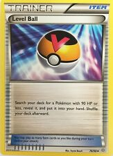 Pokemon TCG XY ANCIENT ORIGINS : LEVEL BALL 76/98 REVERSE HOLO X 4