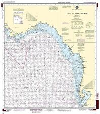 NOAA Chart Tampa Bay to Cape San Blas (Oil and Gas Leasing Areas) 36th Edition